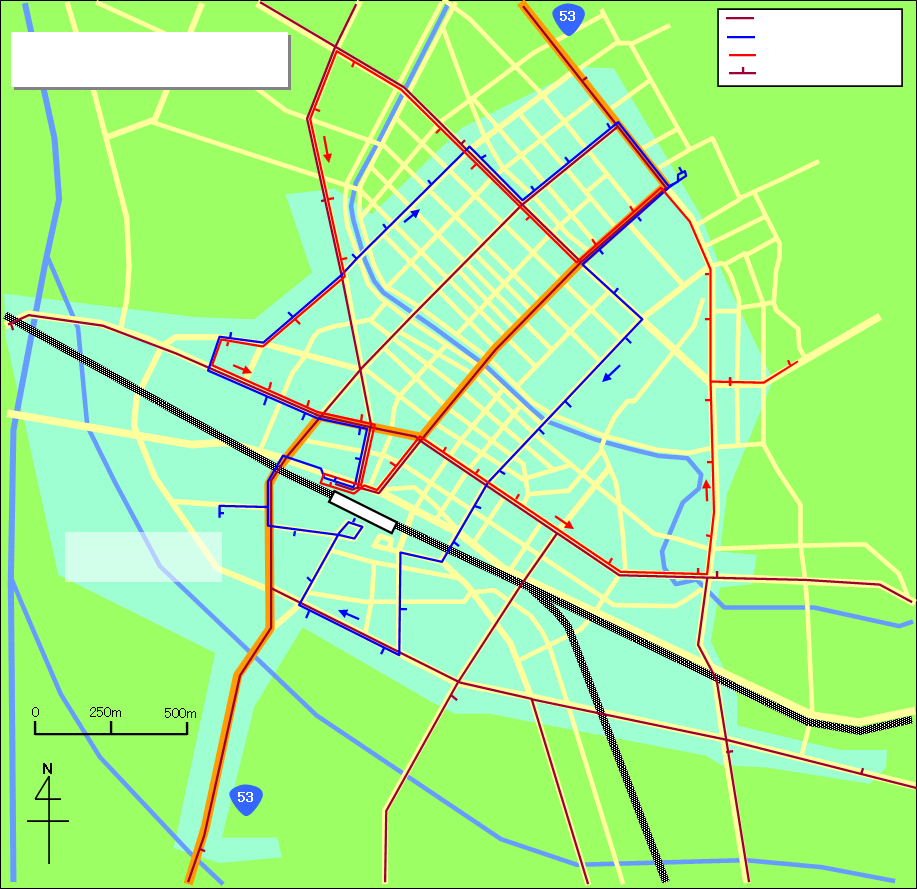 map of tottori